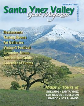 Santa Ynez Valley magazine cover