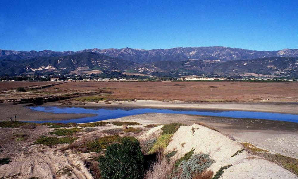 Carpinteria Salt Marsh view